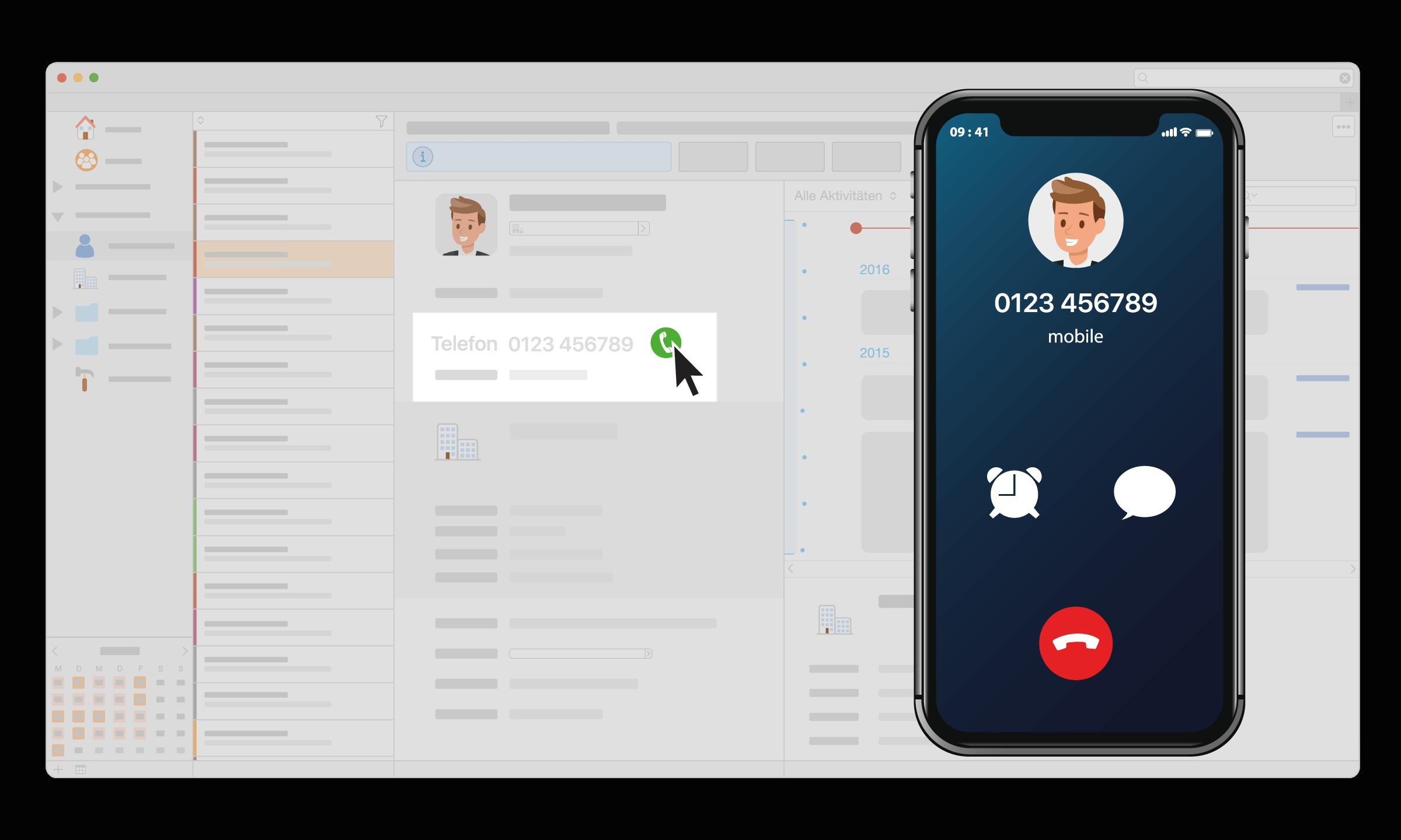 CRM Daylite Apple Mac Telefonie Anruf iPhone.png