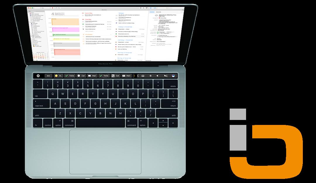 DayliteTip: Daylite and MacBook Pro Touch Bar