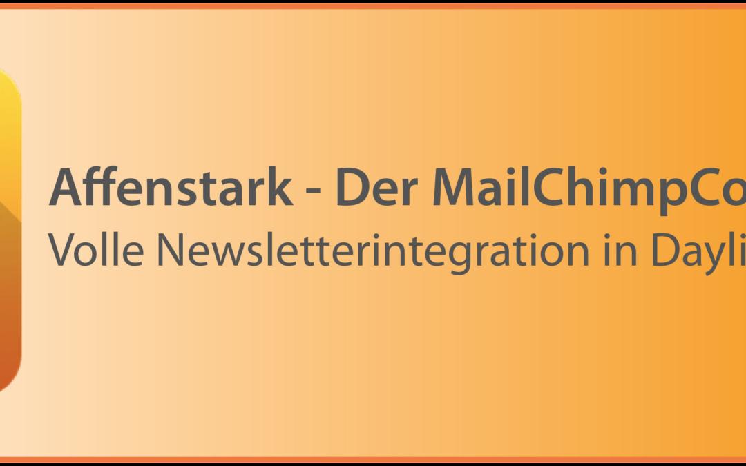 Der MailChimpConnector 3.0 ist da!