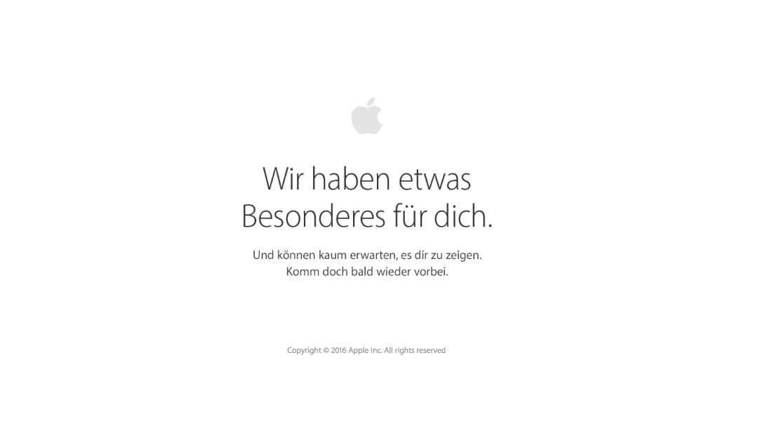 hello again: Apple Keynote am 27.10, 19 Uhr