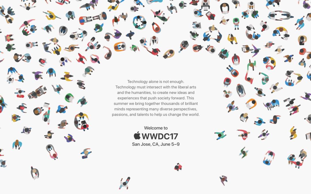 Apple WWDC 2017 vom 5. bis 9 Juni
