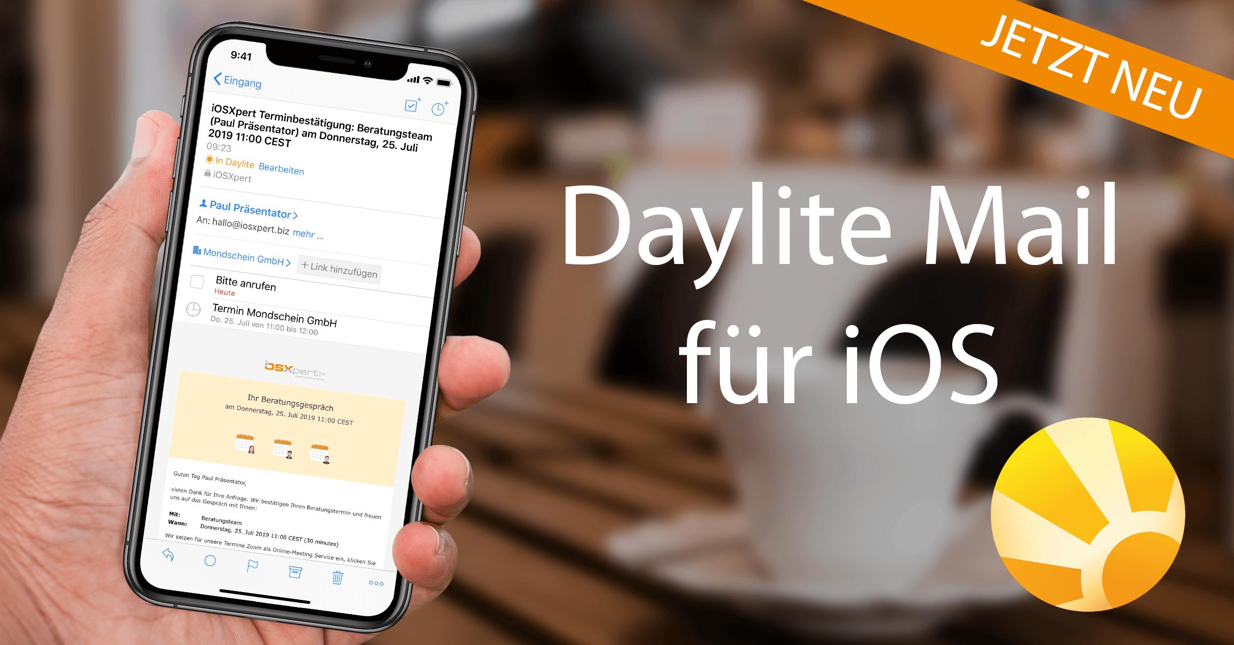 Daylite Mail für iOS ist da!