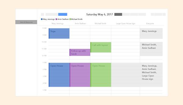 Vorschau: Neue Kalenderansicht für Benutzer- & Ressourcen