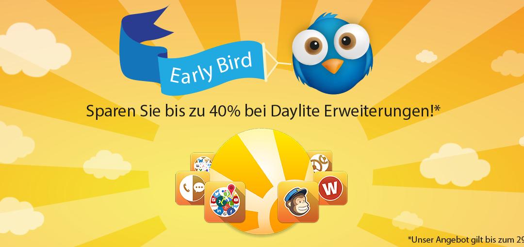 Sparen Sie bis zu 40% bei Daylite Erweiterungen in unserem neuen iOSXpert PluginCenter