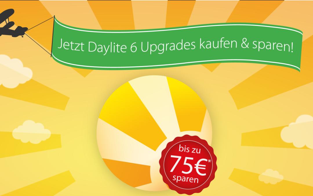 Nur 48 Stunden: Jetzt Daylite 6 Upgrades kaufen & bis zu 75€* je Lizenz sparen!
