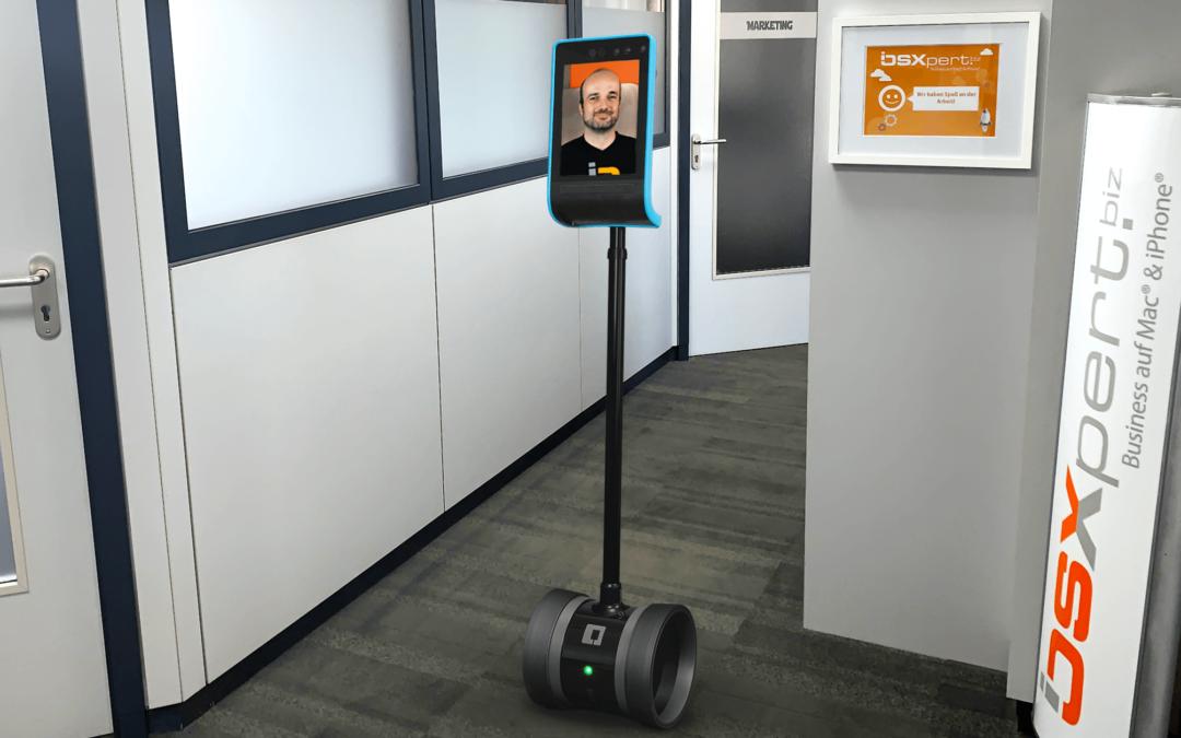Unsere Serie zum Remote Working – Der Double Robotics Telepräsenz-Roboter