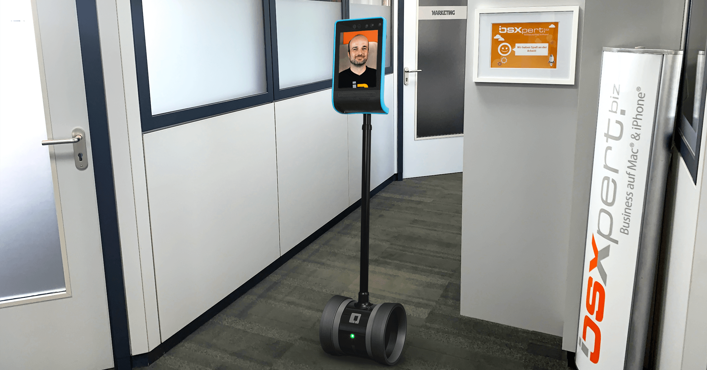 Our Series on Remote Working: Double Robotics Telepresence Robot