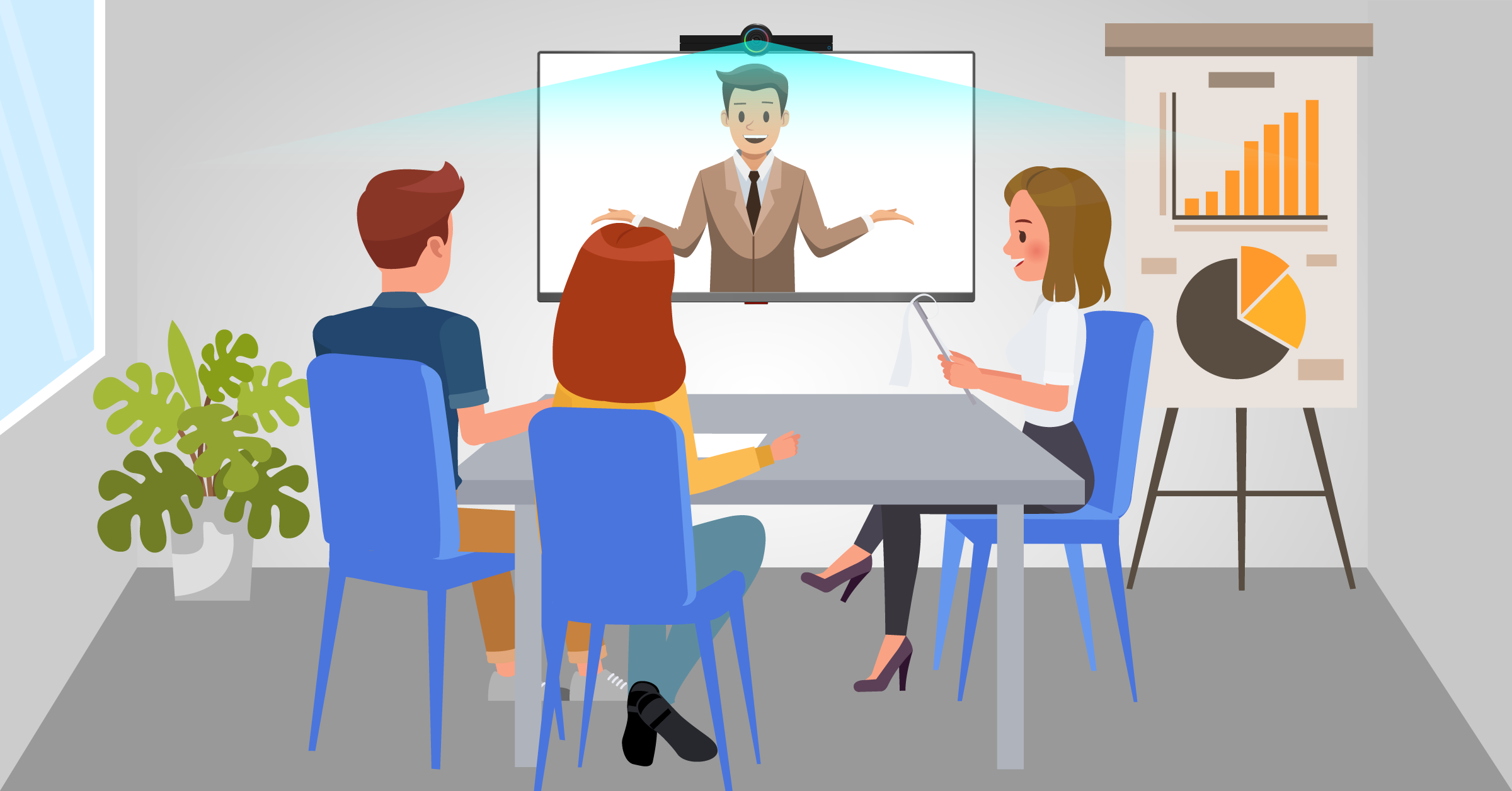 Our Series on Remote Working: HELLO Cam for Video Conference Calls
