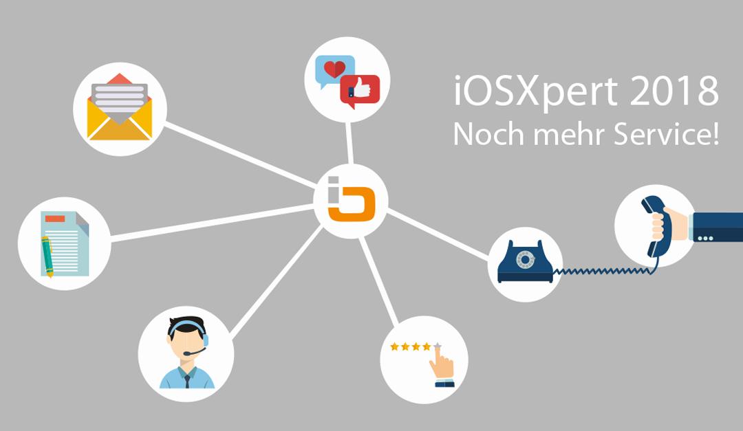 iOSXpert 2018 – noch mehr Service!