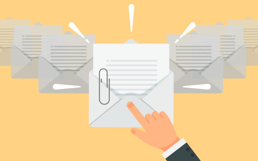 Daylite Tipp: Nach E-Mails mit Dateianhängen filtern