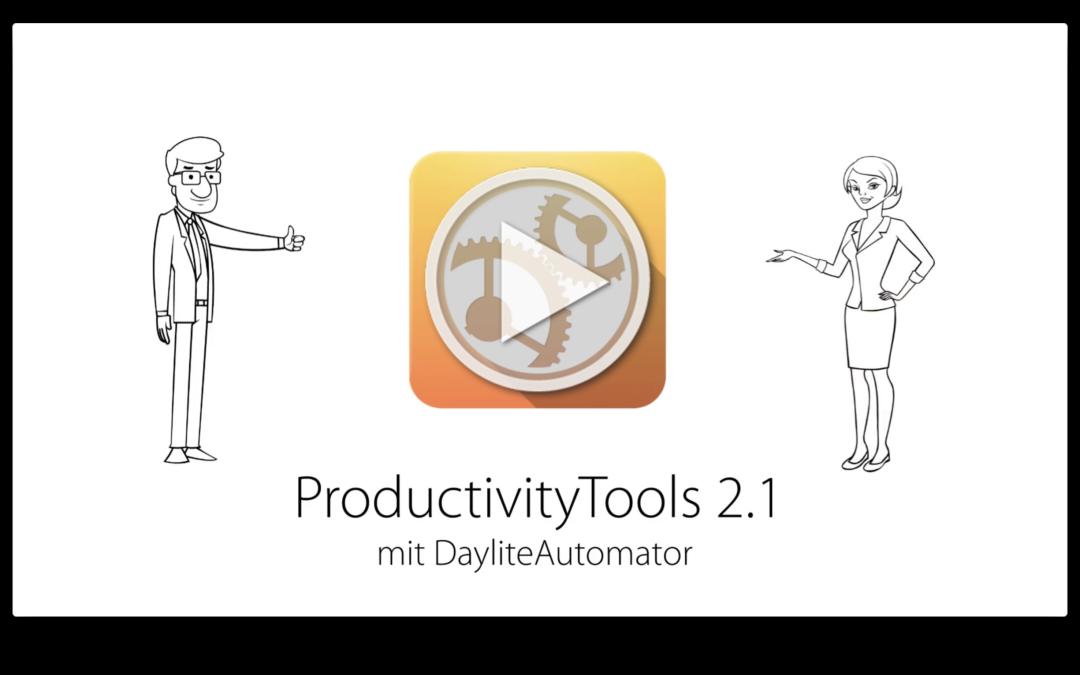 ProductivityTools 2.3 ist da – automatische Aktionen mit dem DayliteAutomator