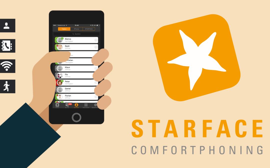 Update für Ihre Starface Benutzersoftware UCC Client 6.4