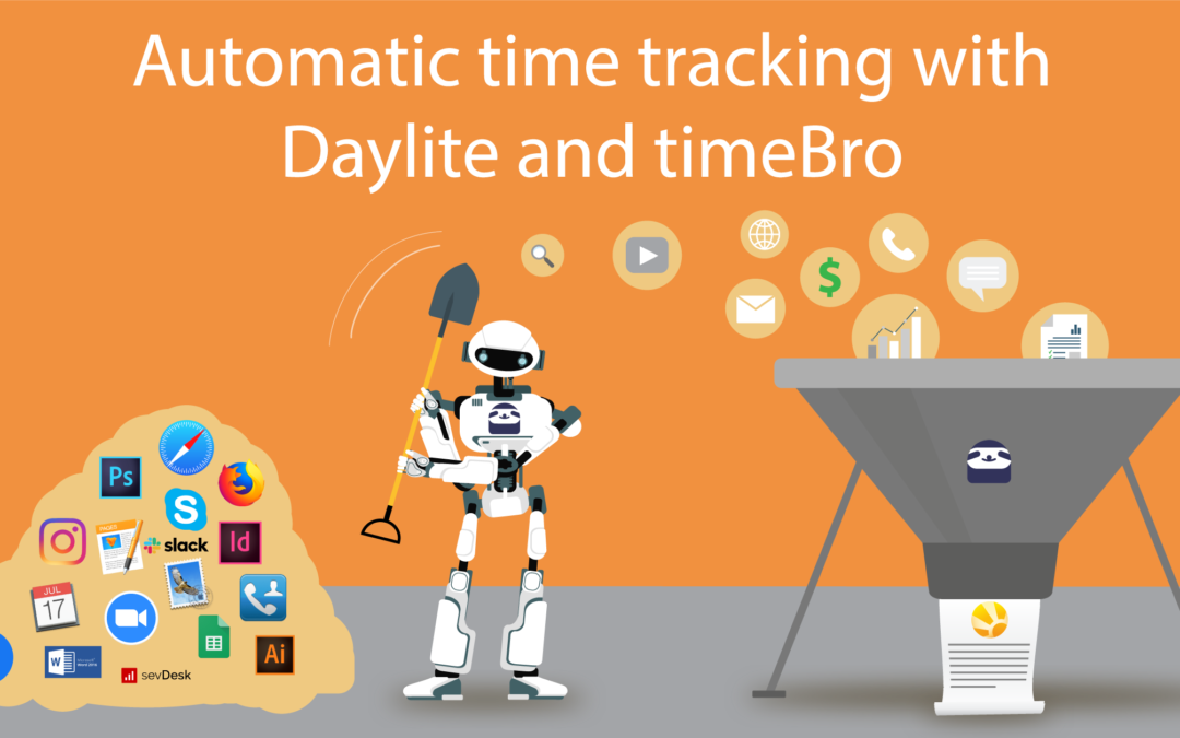 Automatic time tracking now integrated into Daylite