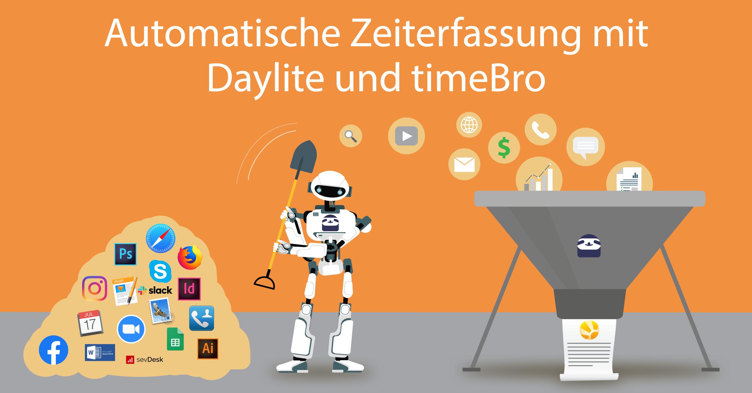 Automatische Zeiterfassung jetzt in Daylite integriert