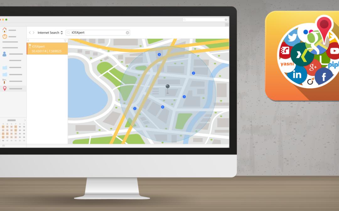 Daylite Tipp: Die Umkreissuche in Web&Map