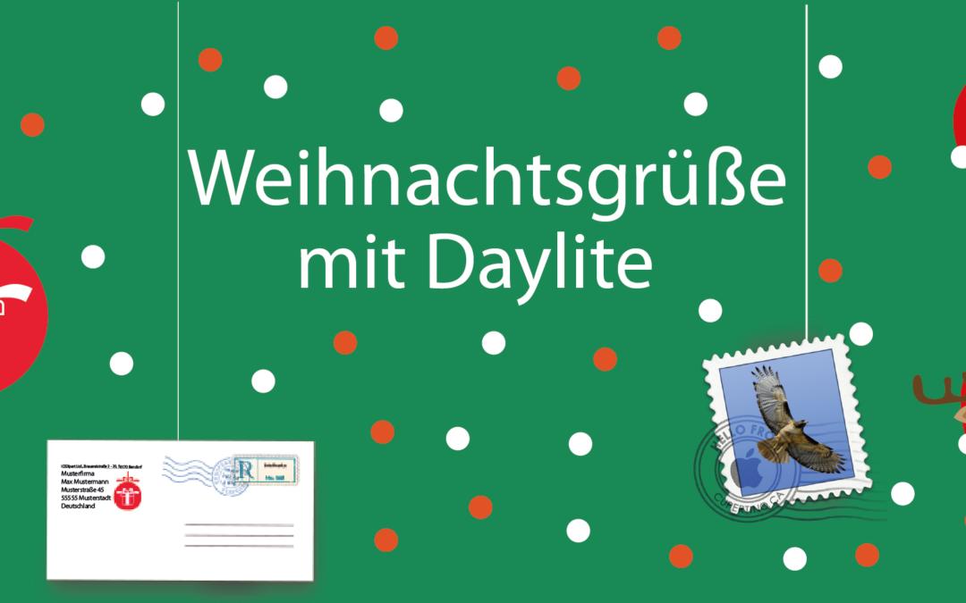 Season's Greetings with Daylite