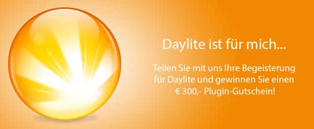 Daylite ist für mich… Jetzt Begeisterung mitteilen und gewinnen!