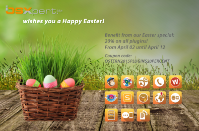 A basket full of plugins – 20% off of all Daylite plugins with our Easter Special!