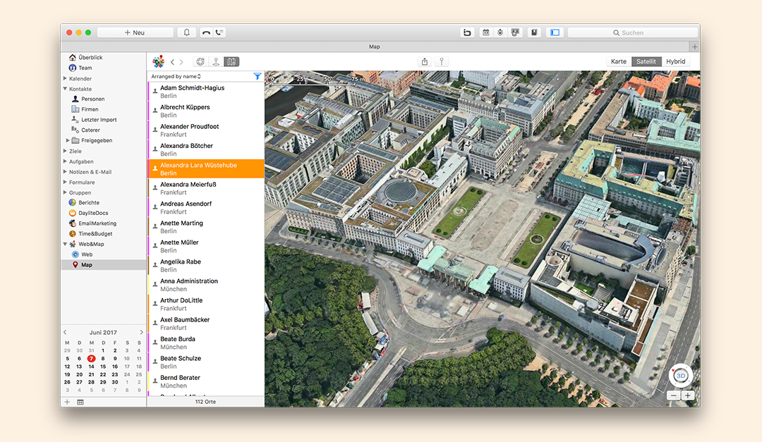 Web&Map 2.0 for Daylite – Now with Apple Maps and more than 15 new features!