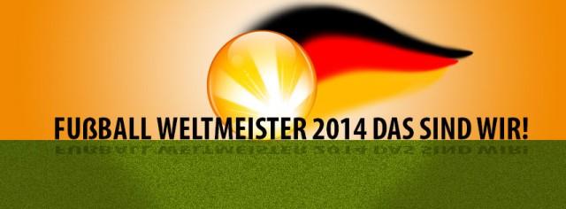 Deutschland ist Weltmeister 2014 – und wir feiern mit!