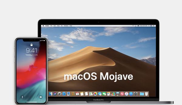 Kompatibilität mit macOS Mojave und iOS 12