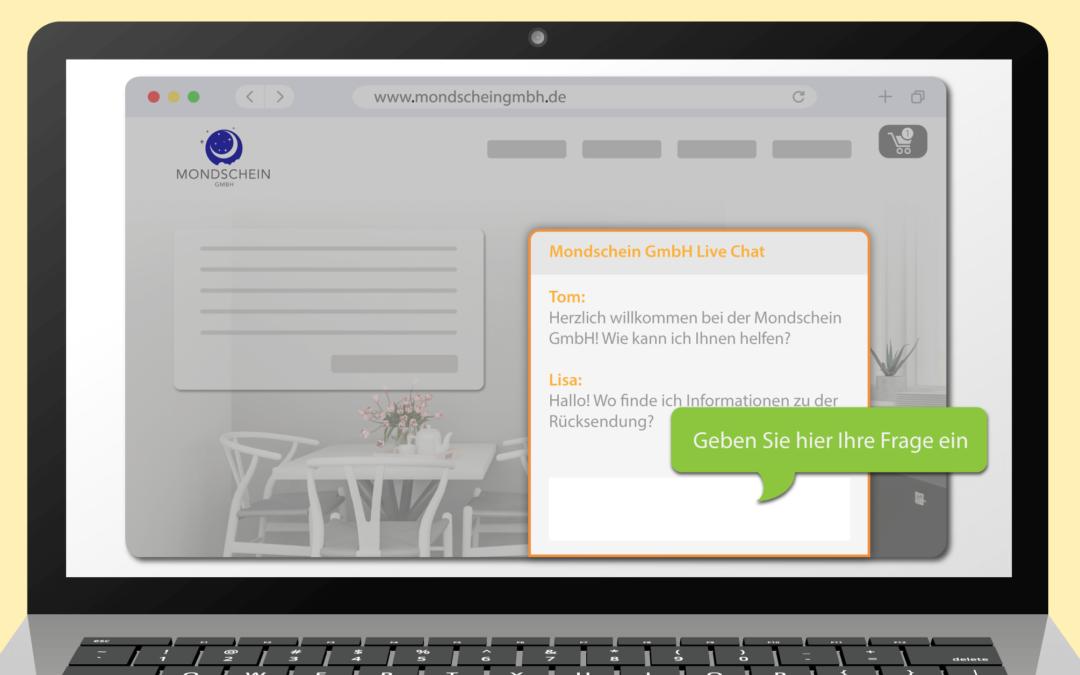 Unsere Serie zum Remote Working – Live-Chat auf unserer Webseite