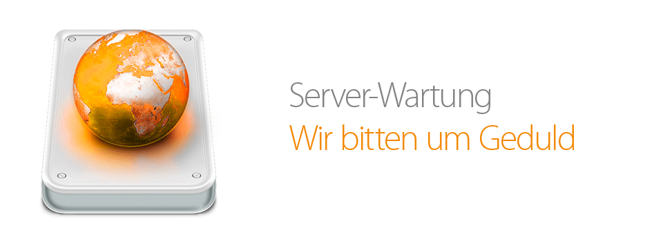27.07.2012: Webseiten-Wartung / website maintenance