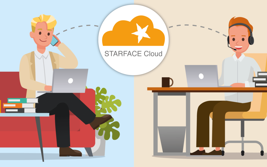 Our Series on Remote Working – Telephony, also from home