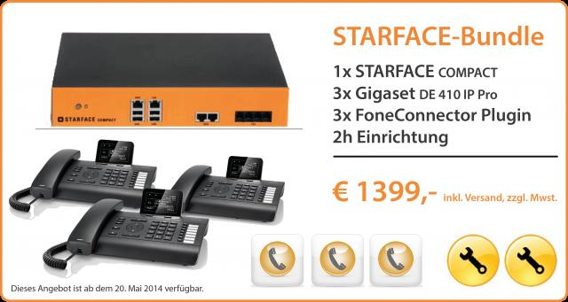 Die Neue STARFACE compact Telefonanlage als Small-Business-Lösung ist da!