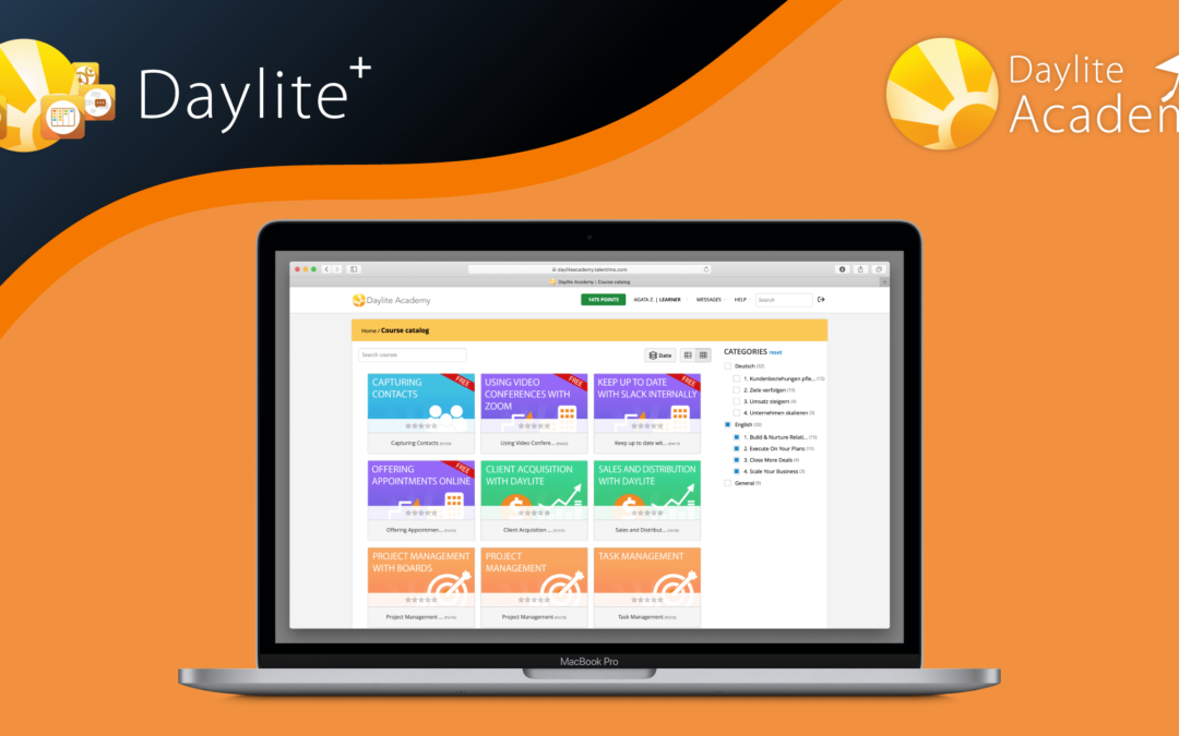 Brand new: Daylite+ and Daylite Academy