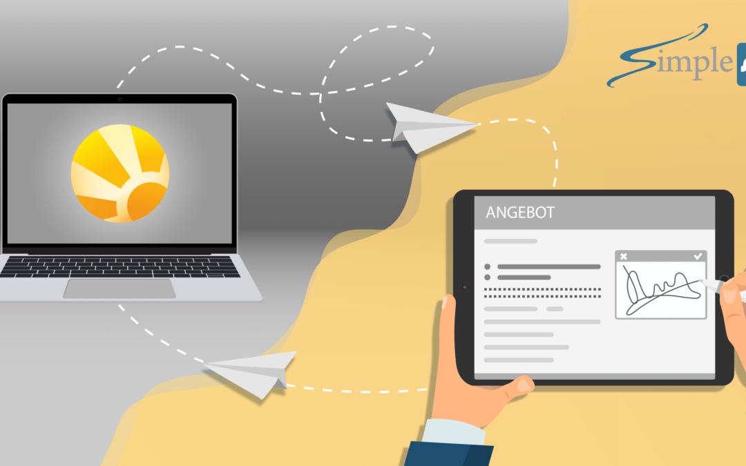 Mit Daylite und SimpleSign Angebote verfolgen und unterzeichnen