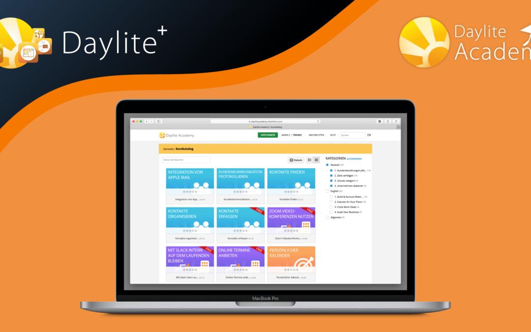 Brandneu: Daylite+ und Daylite Academy