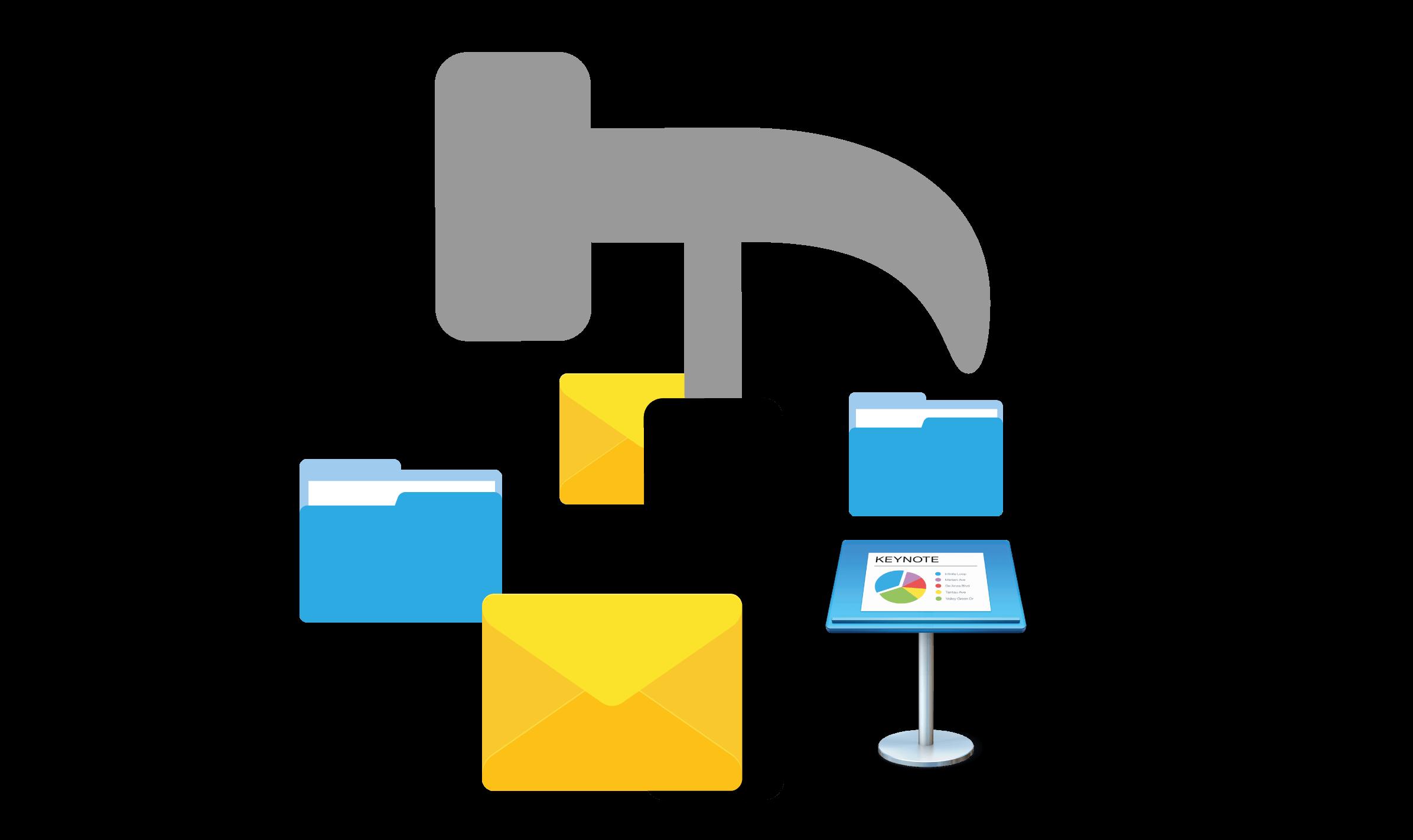 CRM Daylite Mac Projekt Kommunikation Mail.png