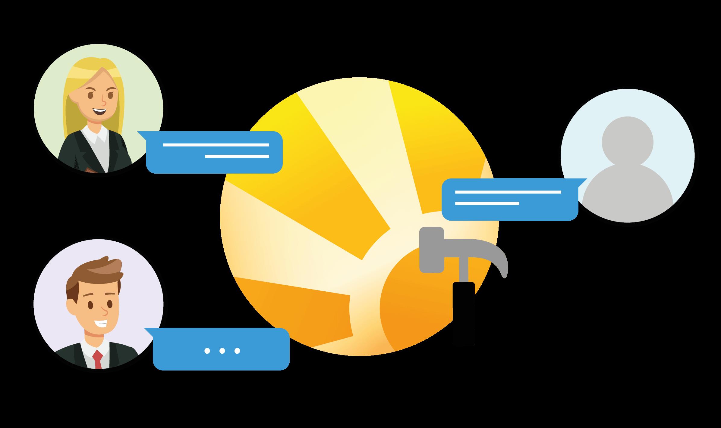 CRM Daylite Mac Slack Chat Projekt Kunde Extern.png